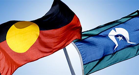 Solidarity with Aboriginal and Torres Strait Island people