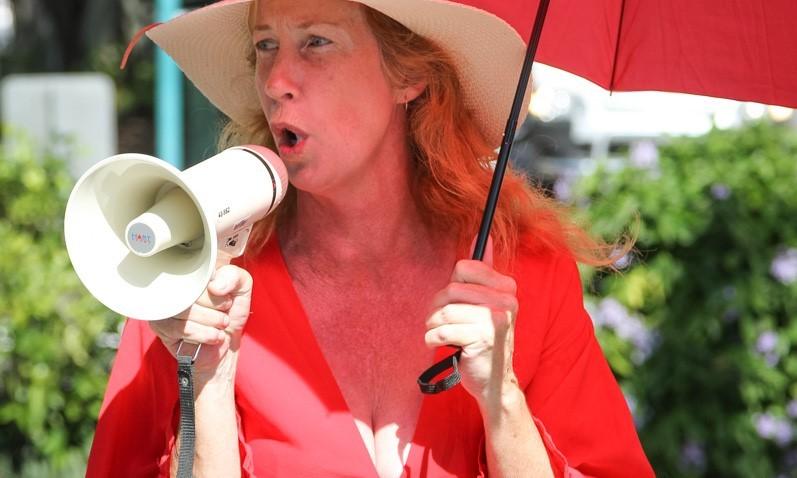 Jenny King, the Respect Inc Trea$urer