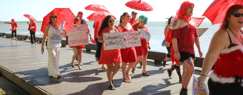 17 December 2018, International Day to End Violence Against Sex Workers, with events across Queensland