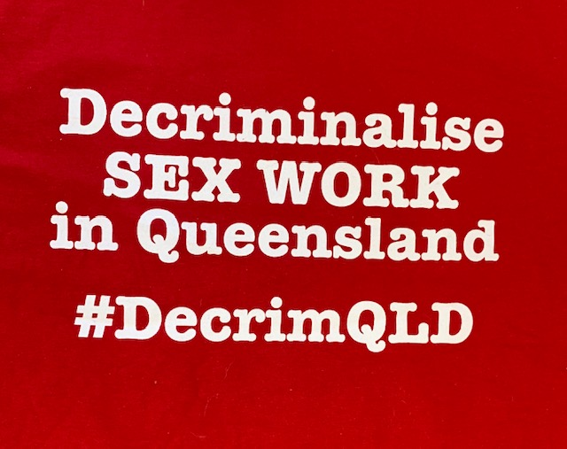 End Violence Against Sex Workers Qld Vigil & protest